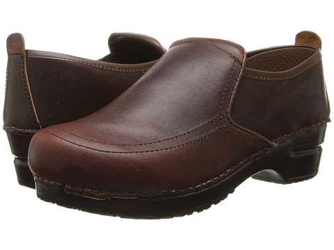Sanita - Saratoga (Dark Brown) Women's Clog Shoes