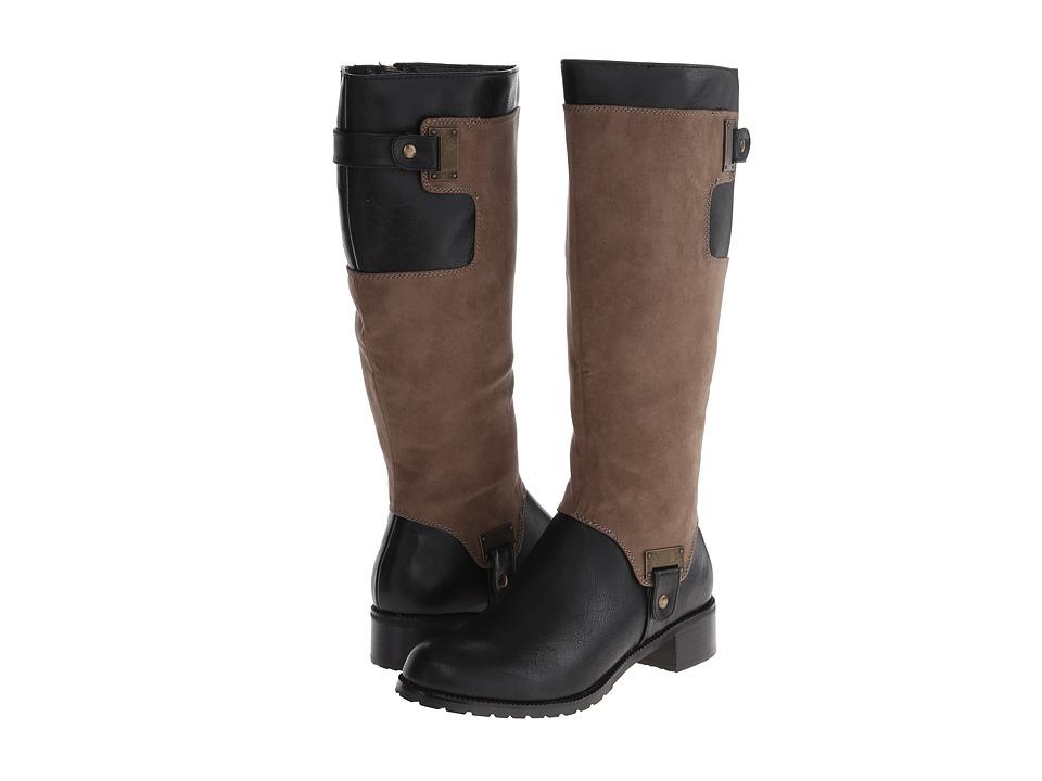 Image of Bella-Vita - Anya II (Black/Taupe) Women's Boots