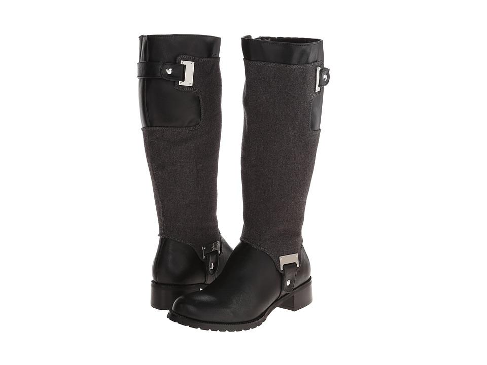 Image of Bella-Vita - Anya II (Black/Grey Flannel) Women's Boots