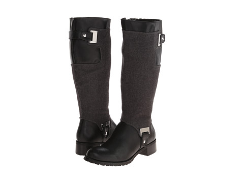 Bella-Vita - Anya II (Black/Grey Flannel) Women's  Boots