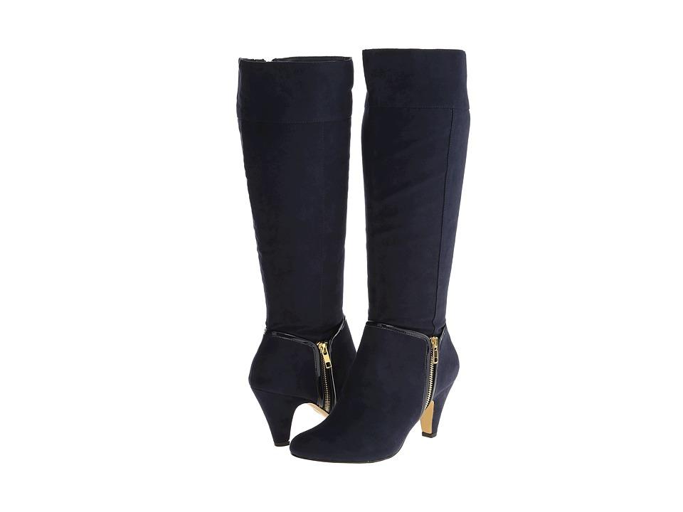 Bella-Vita - Camy II (Navy Super Suede) Women's Boots