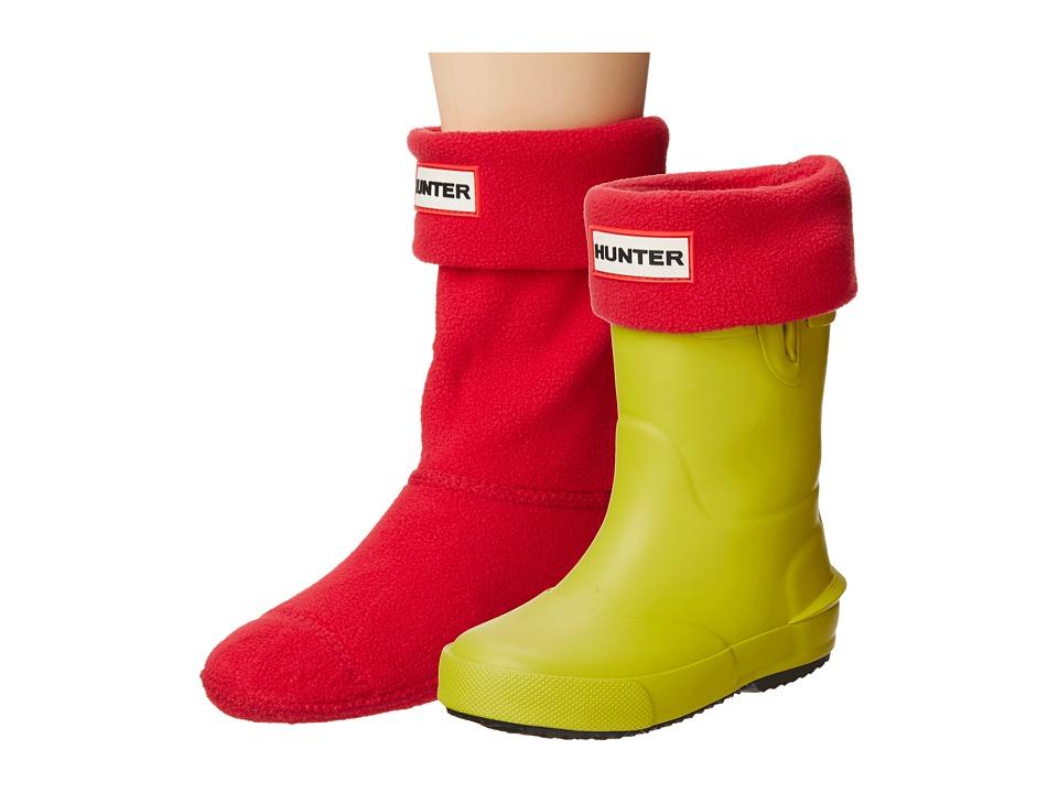 Hunter Kids - Boot Sock (Toddler/Little Kid/Big Kid) (Red) Kids Shoes