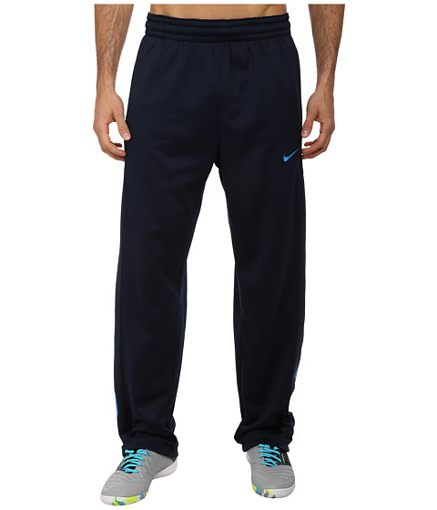 Nike - Elite Stripe Performance Fleece Pant (Obsidian/Obsidian Heather/Photo Blue/Photo Blue) Men