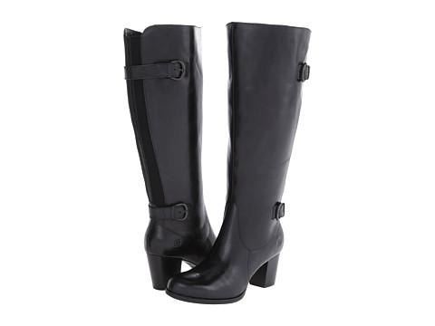 Born - Vita Wide Calf (Black) Women's Shoes