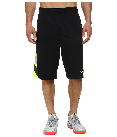Nike - Countdown Short (Black/Volt/Wolf Grey/Volt) Men's Shorts