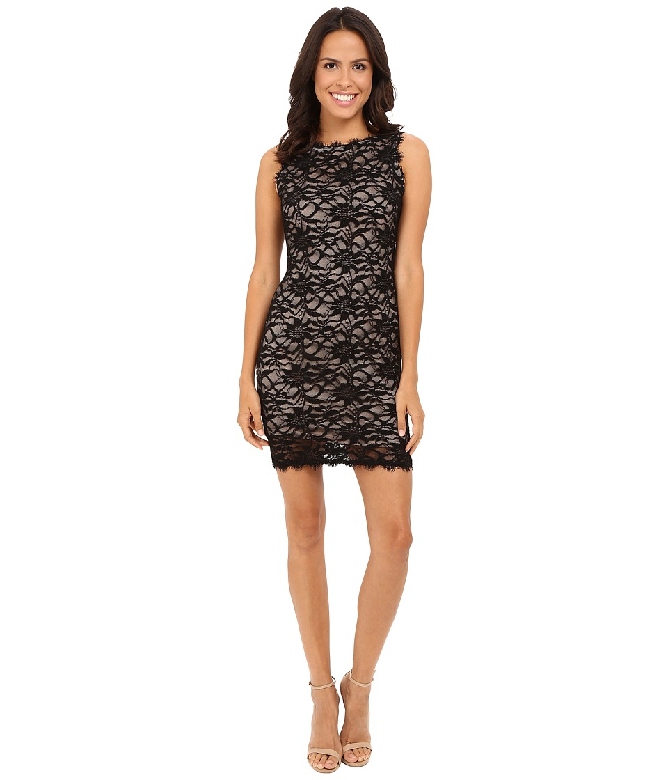 rsvp Liona Lace Dress (Black/Nude) Women