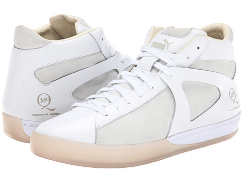 PUMA - McQ Climb Mid (White) Men's Shoes