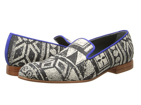 Vivienne Westwood - Mosaic Print Slipper (Mosaic) Men's Slip on Shoes