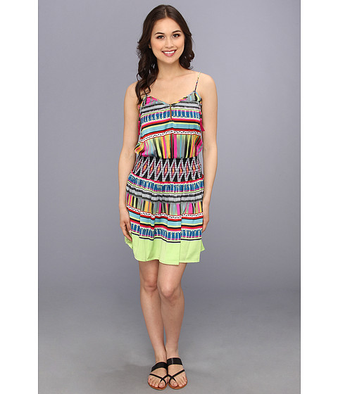 KAS New York - Elise Dress (Aztec Green) Women