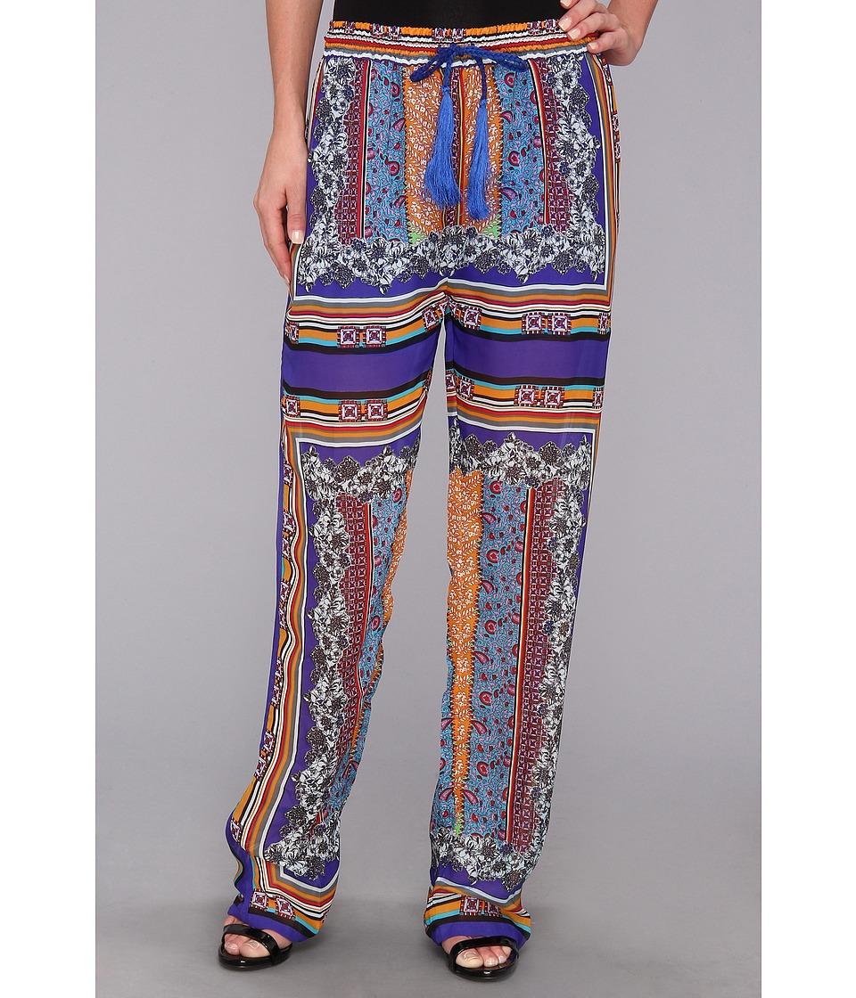 KAS New York - Scarlet Pant (Blue Scarf) Women
