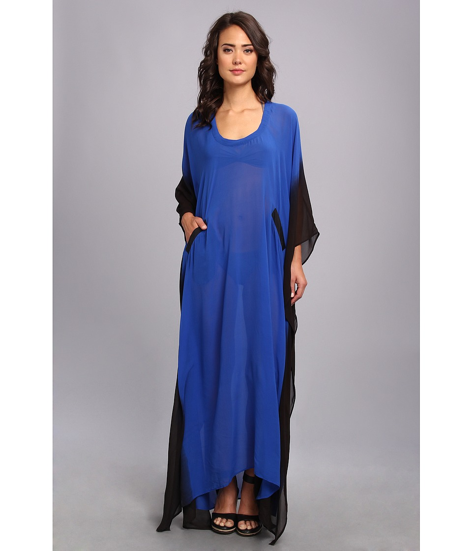 KAS New York - Viviam Kaftan (Royal/Ombre) Women's Swimwear