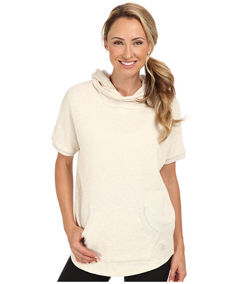 MPG Sport - Temerity (Heather Oatmeal) Women's Short Sleeve Pullover