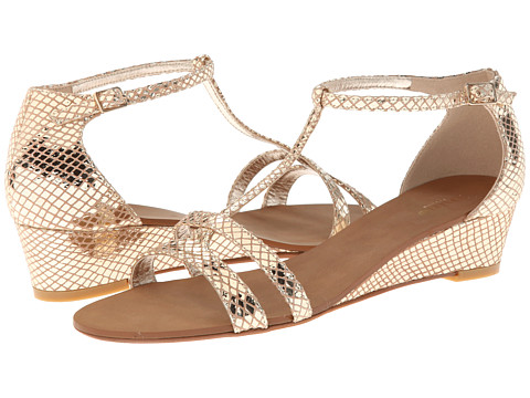 Dune London - Gain (Gold Leather) Women's Shoes