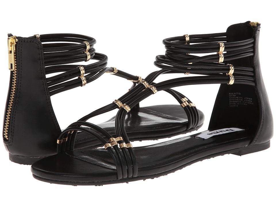 Dune London - Keats (Black Leather) Women's Sandals