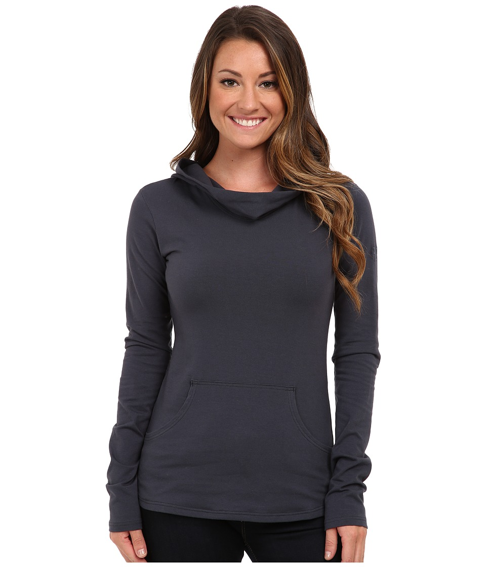 FIG Clothing - Dublin Top (Aquamarine) Women's Long Sleeve Pullover
