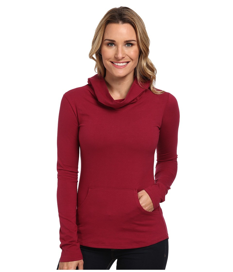FIG Clothing - Dublin Top (Beet) Women's Long Sleeve Pullover