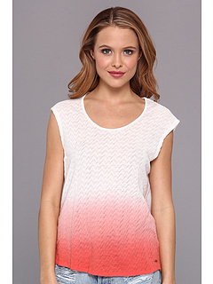 SALE! $17.99 - Save $22 on Volcom Zag Zig Circle Tee (Coral Haze) Apparel - 54.46% OFF $39.50