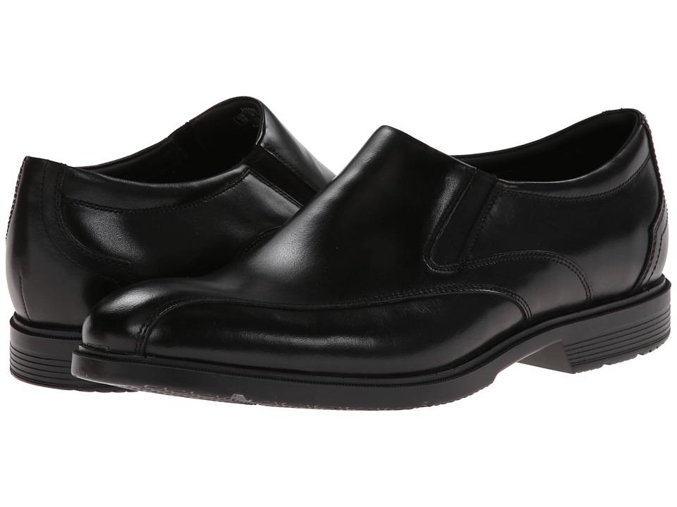 Rockport - City Smart Bike Toe Slip On (Black) Men's Slip on Shoes