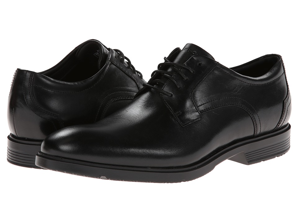 Rockport - City Smart Plain Toe Oxford (Black) Men's Lace up casual Shoes