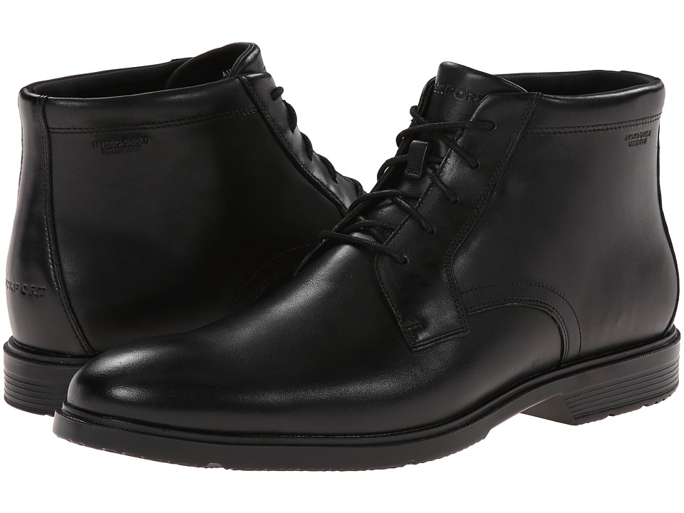 Rockport - City Smart - Waterproof Dress Chukka Boot (Black Waterproof) Men's Boots