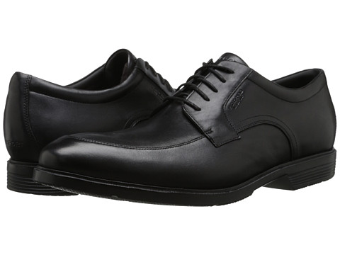 Rockport - City Smart - Waterproof Algonquin Oxford (Black Waterproof) Men