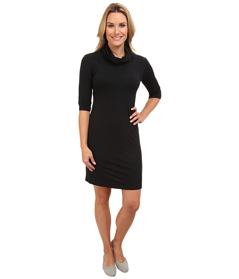FIG Clothing - Oceanic Dress (Black) Women's Dress
