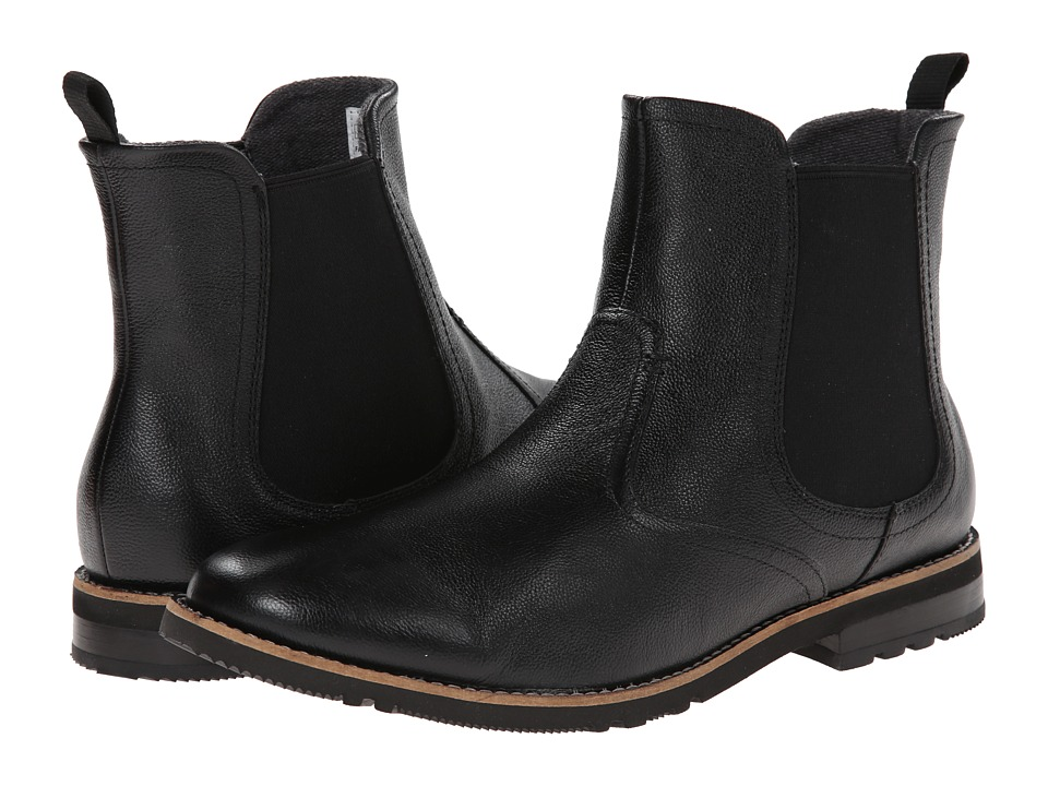 Rockport - Ledge Hill 2 Chelsea Boot (Black Leather) Men
