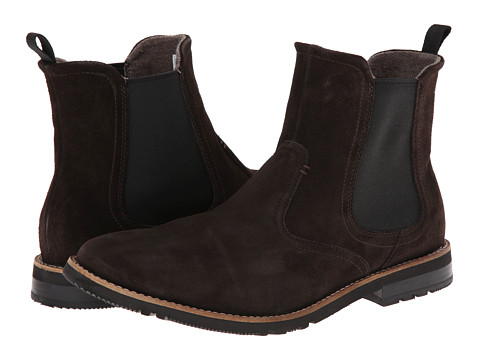 Rockport - Ledge Hill 2 Chelsea Boot (Dark Bitter Chocolate Suede) Men