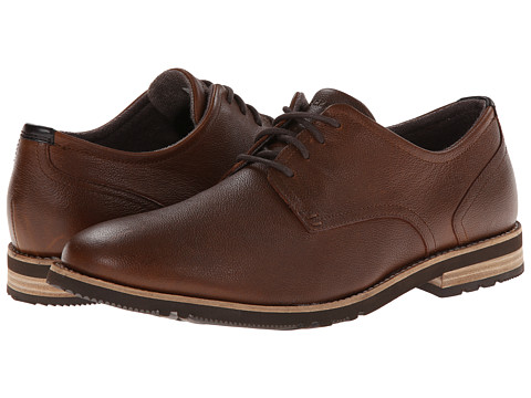 Rockport - Ledge Hill 2 Plain Toe Oxford (Driftwood) Men's Lace up casual Shoes