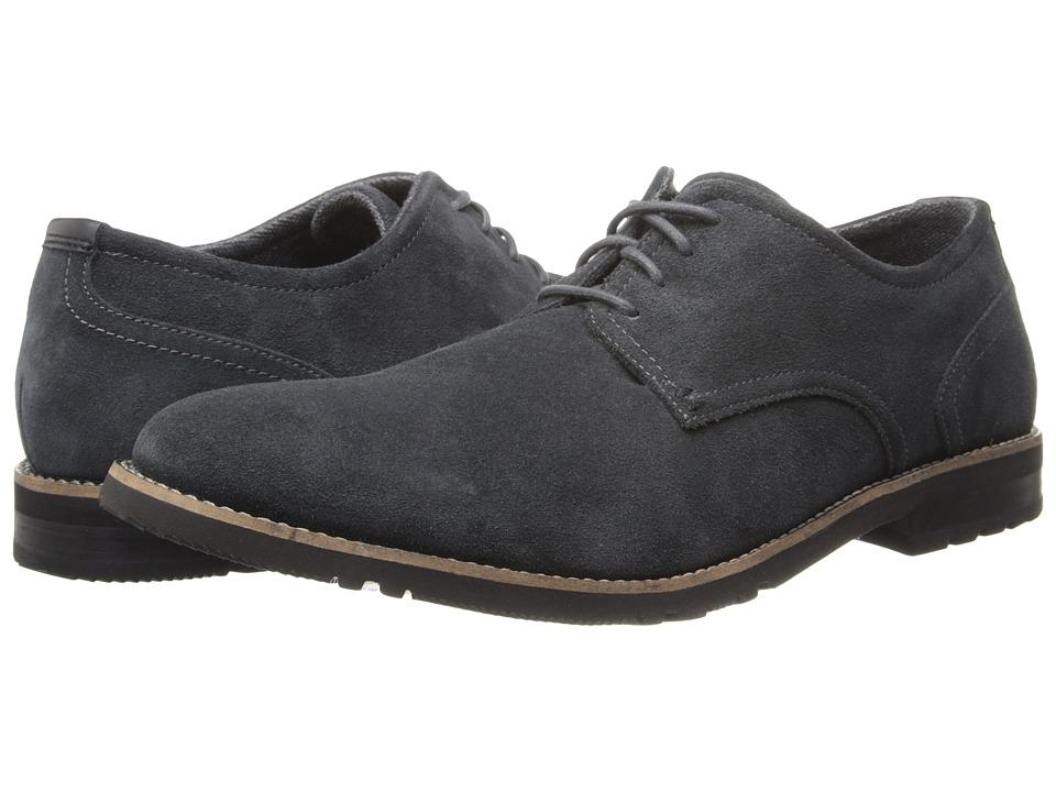Rockport - Ledge Hill 2 Plain Toe Oxford (Grey Suede) Men