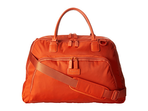 Lipault Paris - JPS Series - 19 Weekend Tote (Tangerine) Tote Handbags