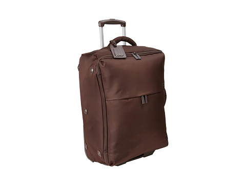 Lipault Paris - Foldable 2-Wheeled 25 Packing Case (Espresso) Handbags