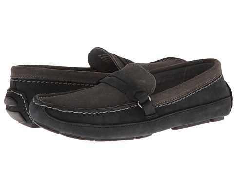 Tommy Bahama - Paradise City (Black/Grey) Men's Slip on Shoes