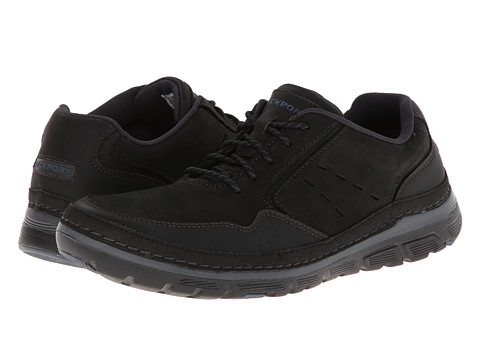 Rockport - RocSports Lite ActivFlex Mudguard Oxford (Black) Men's Shoes