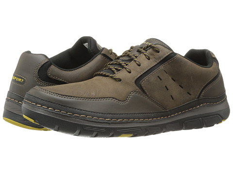 Rockport - RocSports Lite ActivFlex Mudguard Oxford (Dark Brown) Men's Shoes