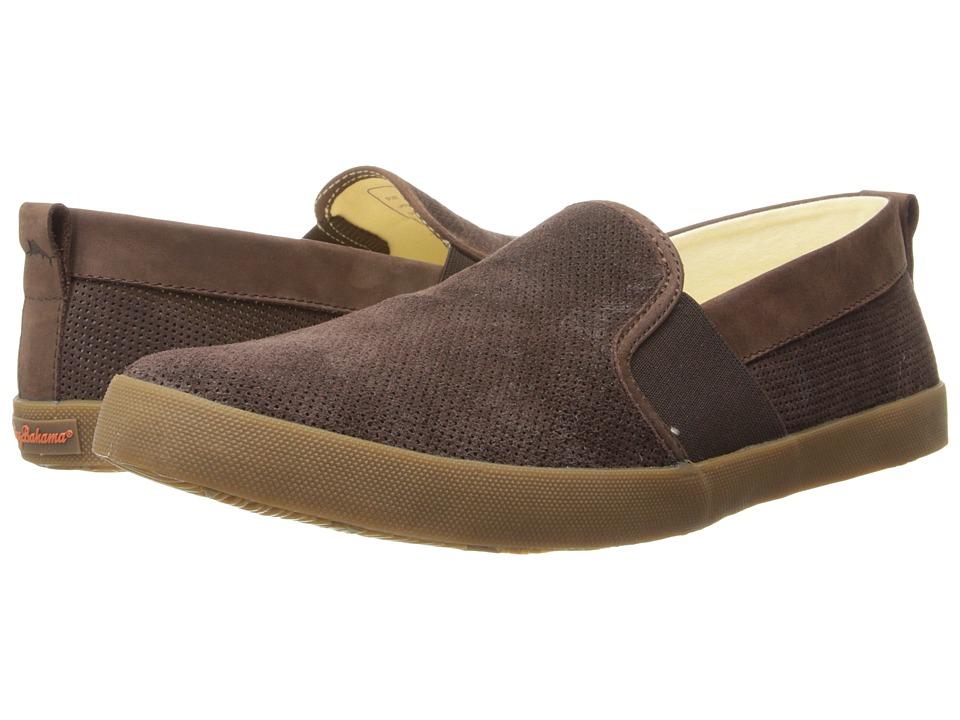 Tommy Bahama - Keanu (Dark Brown) Men's Shoes