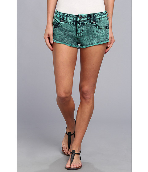 Volcom - Chonies Denim Short (Jade) Women's Shorts