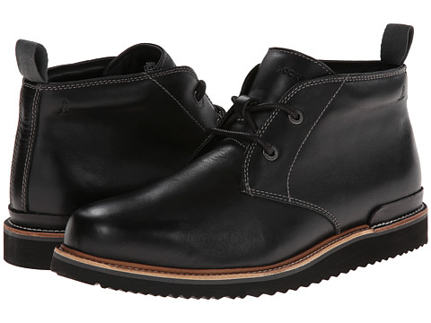 Rockport - Eastern Empire Chukka - Plain Toe - 2 Eye (Black) Men's Shoes