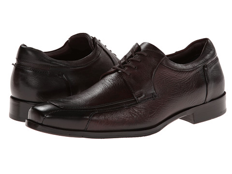 Johnston & Murphy - Shaler Runoff Lace-Up (Oxblood Tumbled Calfskin) Men