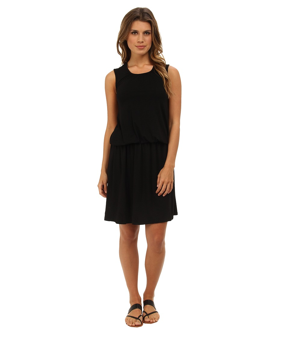 Christin Michaels Breana Dropwaist Sleeveless Dress (Black) Women