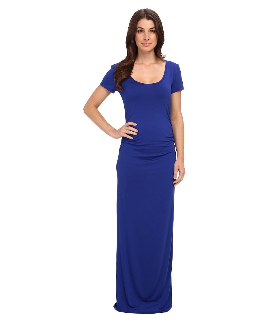 Christin Michaels Bolinda Maxi Dress (Cobalt/Cobalt/Academy) Women