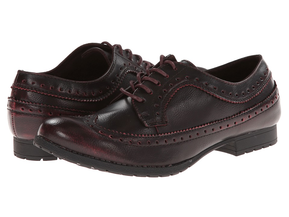 Rocket Dog - Jerome (Red Nightscope) Women's Lace Up Wing Tip Shoes