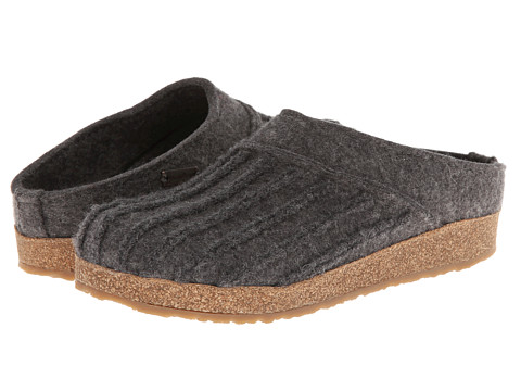 Haflinger - Moments (Grey) Women's Slippers