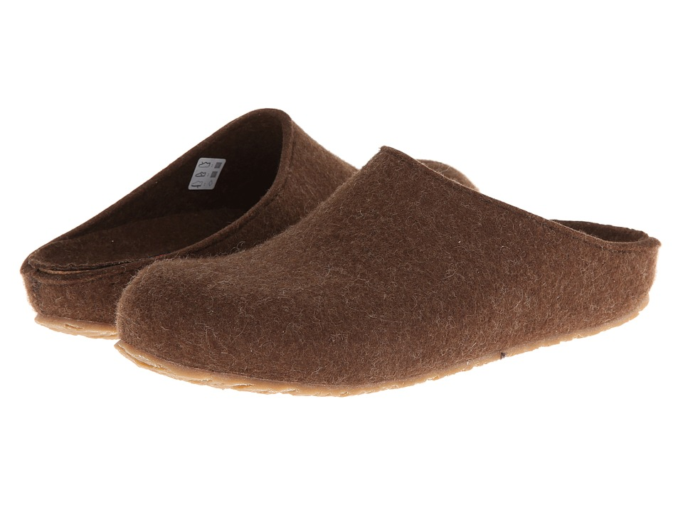 Haflinger - Michl (Chocolate) Men's Slippers