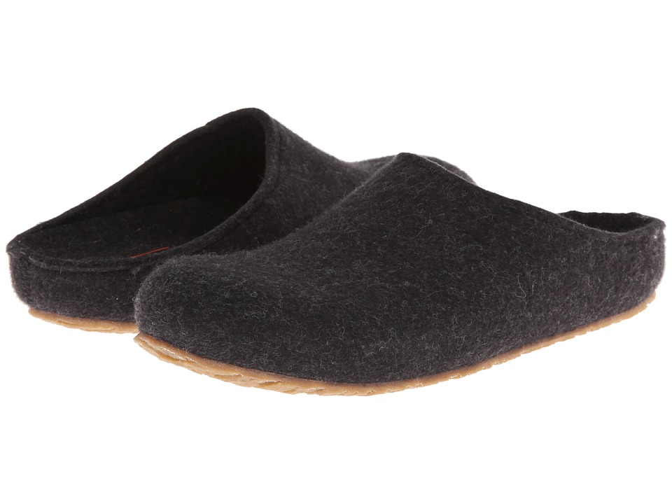 Haflinger - Michl (Charcoal) Men's Slippers