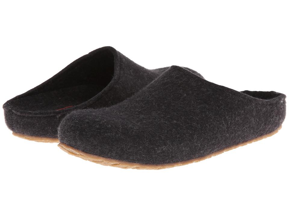 Haflinger - Michl (Charcoal) Men's Slippers