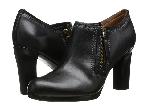 Naturalizer - Annabell (Black Leather/Nubuck) High Heels