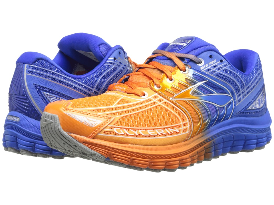 Brooks - Glycerin 12 (Exhuberance/Electric/Silver/White) Men