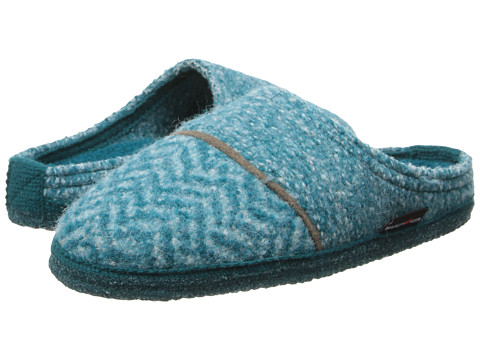 Haflinger - Willow (Aqua) Women's Slippers