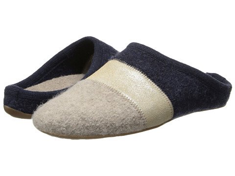 Haflinger - Tosca (Blue/Natural) Women's Slippers